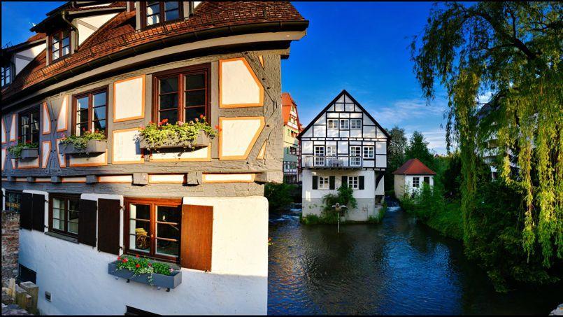 Le Danube acquiert toute sa majesté à Ulm, sans conteste, la plus belle ville de Souabe.