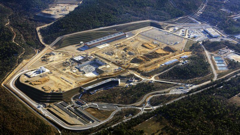Vue aérienne du site de Cadarache (Crédits photo: MatthieuCOLIN.com / ITER Organization).