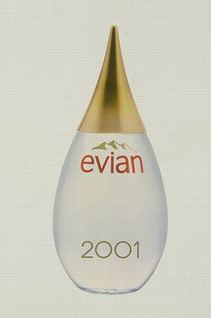 La saga des ditions limit es des bouteilles evian - Collection bouteille evian ...