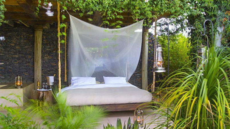 Kenya un lodge au c ur de la savane - Bulle pour dormir a la belle etoile ...