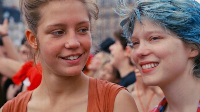La Vie d'Adèle, d'Abdellatif Kechiche, film le plus rentable de l'année.
