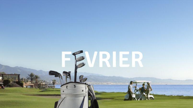 En février, se détendre au détour d'un parcours de golf