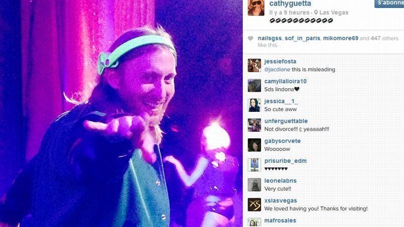 Cathy Guetta Instagram Cathy Guetta Affiche Son Amour