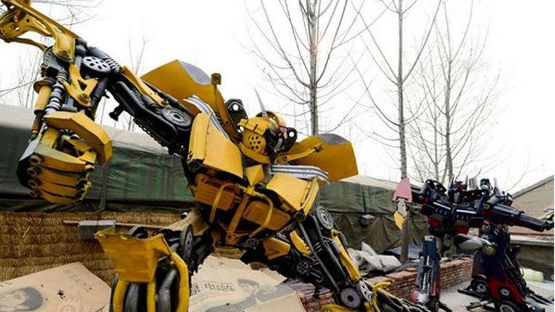 Les Decepticons et les Autobots en pleine province chinoise.