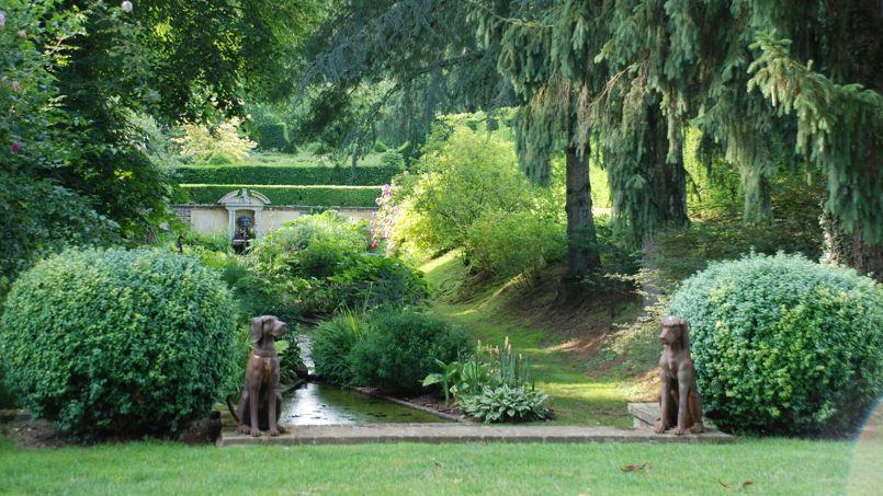 Balade dans les jardins de vip re au poing for Jardin italien