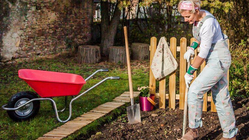L gante glantine le chic f minin c t jardin for Conseil pour le jardin
