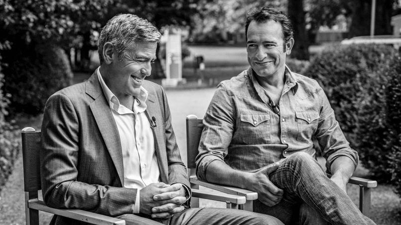 Avec jean dujardin et george clooney dans les coulisses de for Dujardin xavier