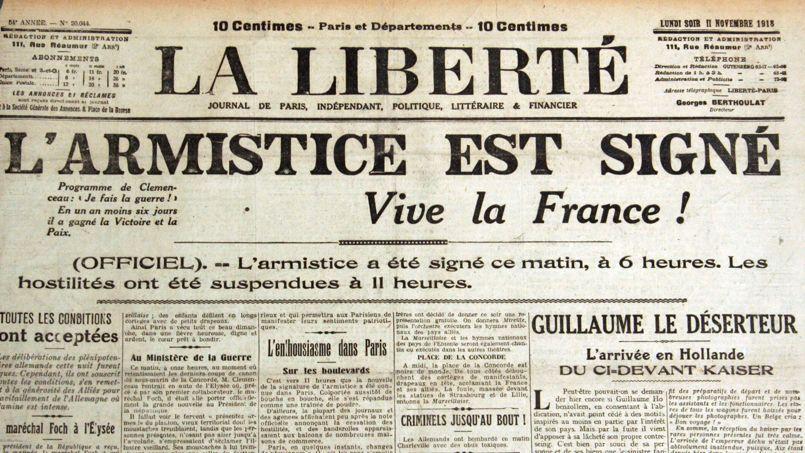 Resultado de imagen de armistice 11 novembre