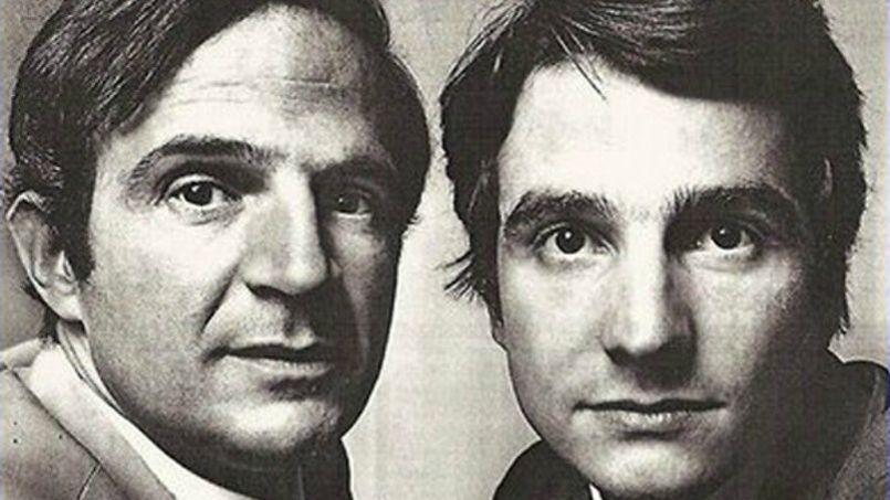 François Truffaut et Jean-Pierre Léaud. Dans la vie comme à l'écran, la complicité Truffaut/Léaud est sans aucun doute la plus allégorique de toute l'histoire du cinéma français. La Cinémathèque Française.