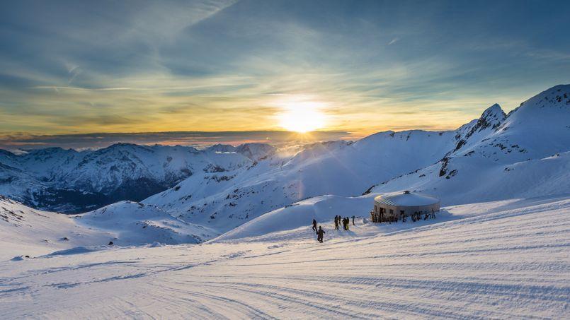 L 39 alpe d 39 huez skier sarenne t t ou tard - L alpe d huez office tourisme ...