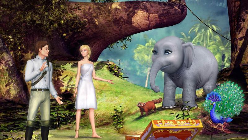Programme tv barbie princesse de l 39 le merveilleuse - Barbie et l ile merveilleuse ...