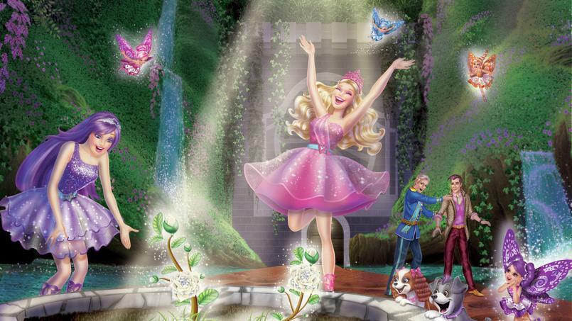 Programme tv barbie la princesse et la popstar - Barbie la princesse et la pop star ...