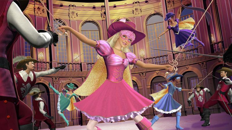 Programme tv barbie et les trois mousquetaires - Barbie les trois mousquetaires ...