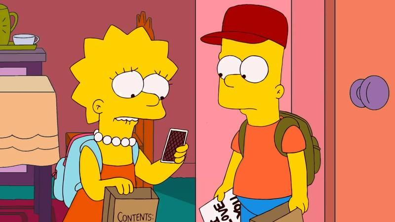 Les Simpson - Pas comme ma mère