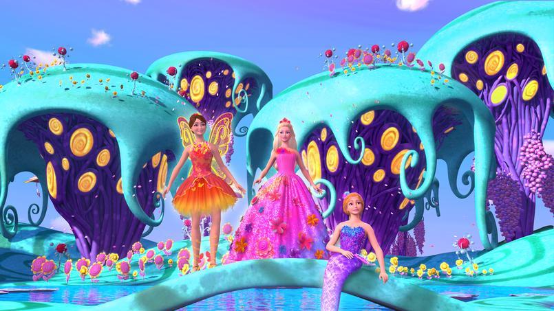 Programme tv barbie et la porte secr te - Barbie et la porte secrete film complet ...