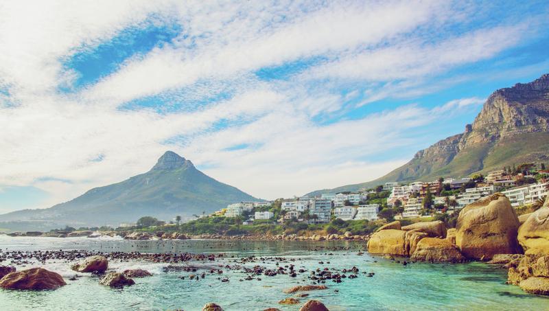 L'Afrique vue d'en haut - La province du Cap