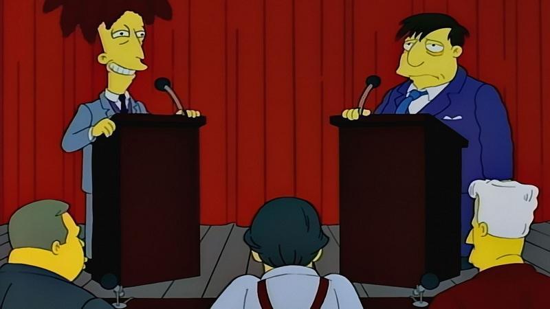 qui essaye de tuer bart simpson Sideshow bob essaye encore une fois de tuer bart en se faisant passer pour mort mais lisa découvre la supercherie il a bu l'éfacer moi ca et à tout oublier de ce qui c'est passé bart parle à grand-papa simpson et il lui suggère de donner à nikki un baiser.