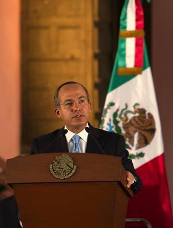 Calderon: 'Mexico must have an active foreign poloicy'