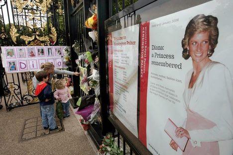Hommage discret du Royaume-Uni à sa ''princesse du peuple''