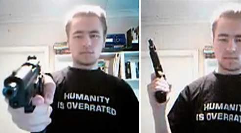 C'est cet élève de 18 ans, ici dans une vidéo mise en ligne sur Internet en guise de revendication, qui a perpétré le massacre avant de se tirer une balle dans la tête.