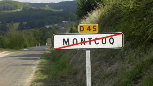 Le village de Montcuq est arrivé largement en tête du scrutin organisé sur internet .