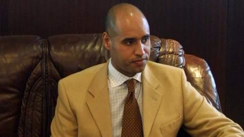 Seif el-Islam Kadhafi, le fils du leader lybien, dirige la Fondation Kadhafi (AFP).