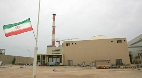 La centrale nucléaire de Busher, à 1200 km au sud de Téhéran, en Iran.