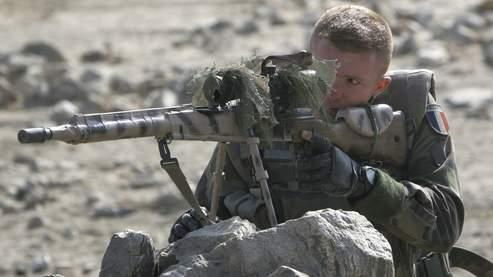 Un soldat français en mission à Kaboul, fin novembre.