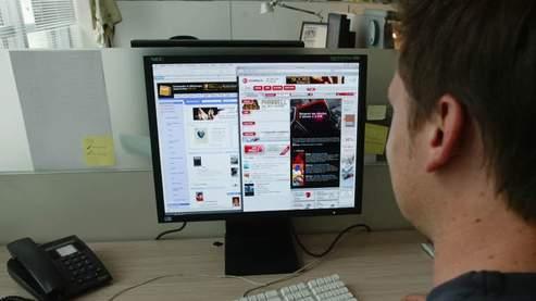 Le mot de passe pour la connexion Internet est «salearabe». Un énorme choc pour le client d'Orange. Crédits photo : François Bouchon/Le Figaro