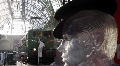 Gabin, Dufy et des motrices au Grand Palais, autant de liaisons voyageuses entre l'art et le rail. (Paul Delort/ Le Figaro)