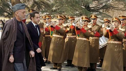 Sarkozy :«Nous ne devons pas perdre» en Afghanistan
