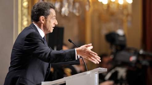 «J'ai demandé à Brice Hortefeux (...) d'aller jusqu'au bout d'une politique fondée sur des quotas», a notamment déclaré le chef de l'État.