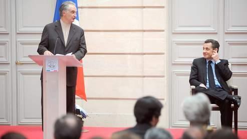 Nicolas Sarkozy a relevé quelques désaccords avec les propositions formulées par Jacques Attali.