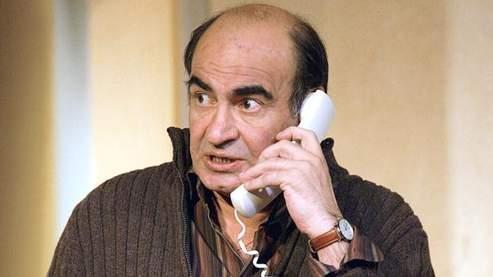 Le comédien Philippe Khorsand en 2003 (Guez/AFP)