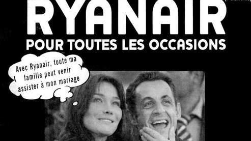 Reproduction de la publicité parue dans Le Parisien. (AFP)