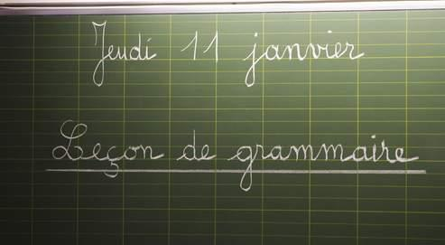 Certains enseignants ont fait de la résistance à la dernière réforme de 1995, utilisant en classe des terminologies classiques.