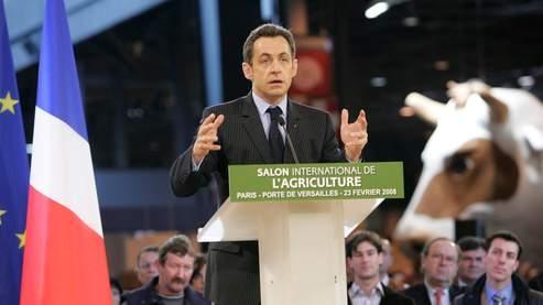 Nicolas Sarkozy a plaidé pour une véritable refondation des modalités de mise en oeuvre de la PAC.