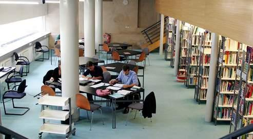 La librairie de l'ENA, à Strasbourg.