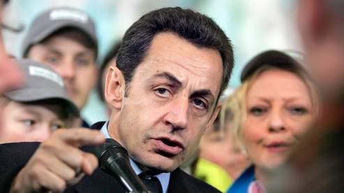 Nicolas Sarkozy, jeudi dernier. Huguen/AFP