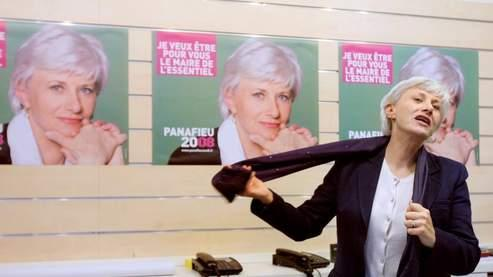 Françoise de Panafieu a annoncé qu'elle abandonnait la mairie du XVIIe arrondissement de Paris. (Patrick Kovarik / AFP)