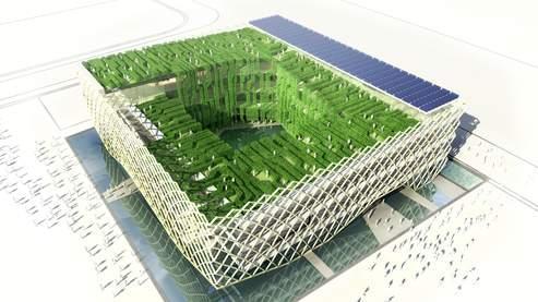 Le projet du pavillon français imaginé par Jacques Ferrier (Jacques Ferrier Architectures/image Ferrier Production).