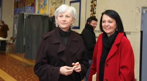 Brigitte Kuster était la directrice de campagne deFrançoisede Panafieu pour les municipales.