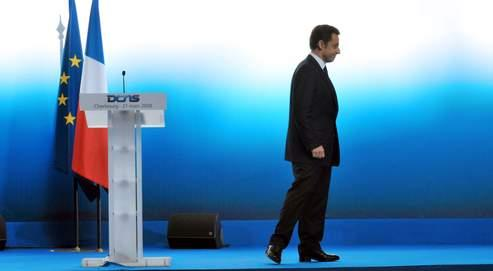 Le chef de l'État à Cherbourg, après son discours sur la force nucléaire française.