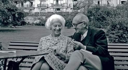 En 1961, en quête de calme et d'intimité afin de poursuivre son oeuvre, Vladimir Nabokov s'installa au Montreux Palace avec son épouse Véra. (DR)