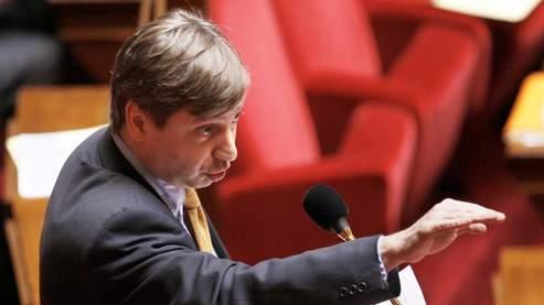 François Grosdidier à l'Assemblée, le 3 avril dernier.