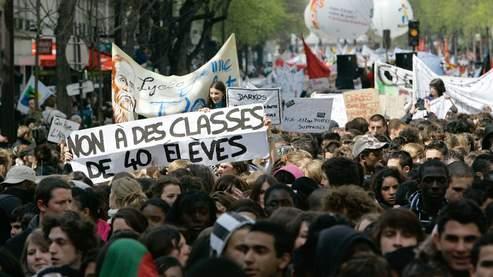 Les lycéens parisiens fortement mobilisés