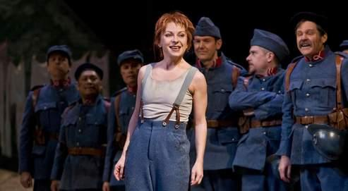 dessay daughter of Natalie dessay has been making a real signature role out of marie, donizetti's foundling daughter of the regiment who turns out to be of noble birth (well, partly.