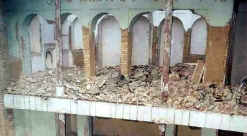 En 2004, à Téhéran, la maison de Mirza Abbas Nuri, père du fondateur de la foi baha'ie, a été détruite. Depuis la révolution islamique de 1979, de nombreux sites sacrés ont été démolis.
