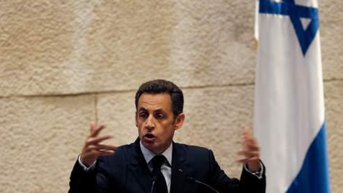 Sarkozy : «Pas de paix sans arrêt de la colonisation»
