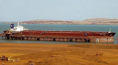 L'intérêt des groupes miniers pour le transport maritime vient de considérations financières: en 2007, les prix du fret ont été multipliés par trois ou quatre. DR